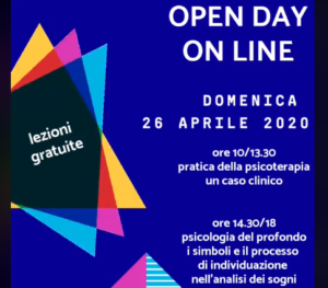 Open day on line con lezioni di psicoterapia