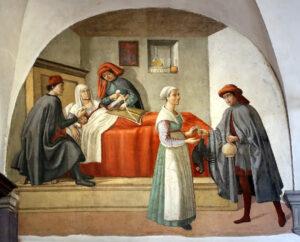 La fiera convertita in ospedale, da Hermes a Saturno