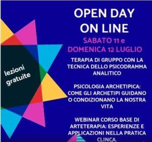 Open Day Luglio 2020