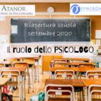 Rientro a scuola: nelle nuove linee guida  per le riapertura previsto anche lo psicologo