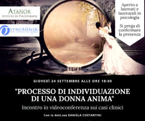 Read more about the article PROCESSO DI INDIVIDUAZIONE DI UNA DONNA ANIMA