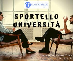 Read more about the article Sportello Università: tre colloqui a disposizione degli studenti di psicologia