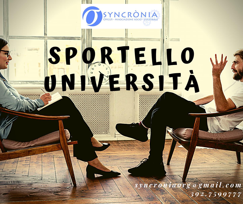 Sportello Università: tre colloqui a disposizione degli studenti di psicologia