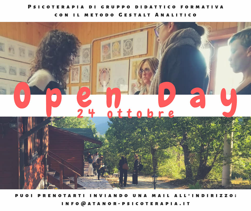 You are currently viewing OPEN DAY 24-25 Ottobre 2020