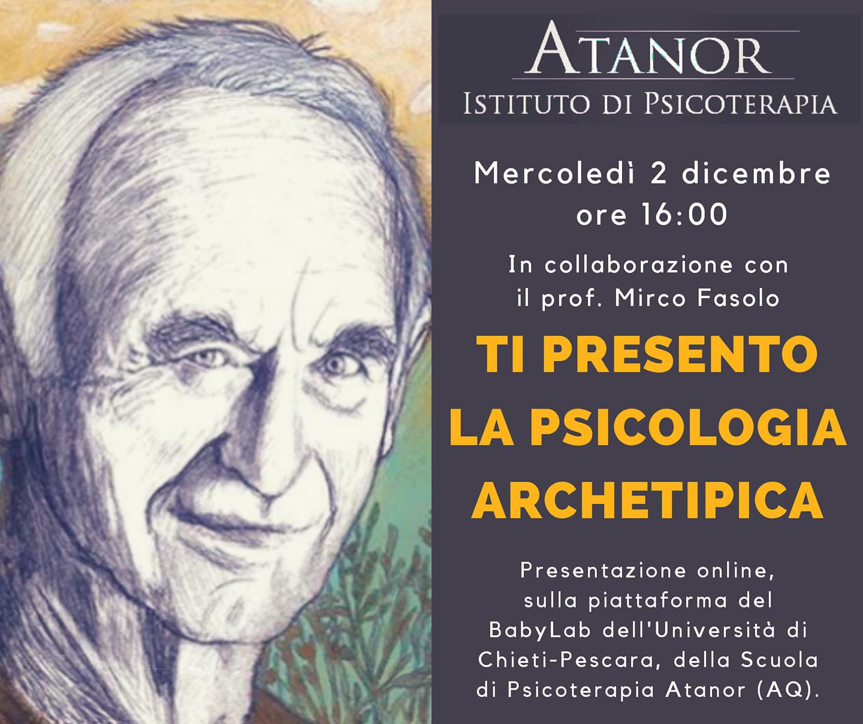 Ti presento la psicologia archetipica: Evento Online