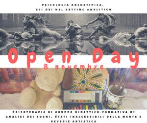 Open Day: l'8 Novembre, per studenti di psicologia e psicologi