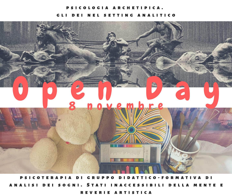 You are currently viewing Open Day: l'8 Novembre, per studenti di psicologia e psicologi